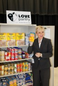 Dr. Angela Murphy-Osbourne, Principal of Spring Lake Elementary, loves the Love Pantry. Photo Copyright © 2013 Christopher Casler